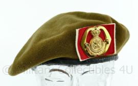 KL baret met insigne OCIO Opleidingscentrum voor Initiële Opleidingen - maat 57 - ZELDZAAM - origineel