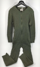 Britse Luchtmacht piloten warme wollen voering  voor overall Jumpsuit  RAF aircrew inner coverall knitted MK I - maat M/L - origineel