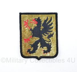 Zweedse leger  Tygmarken Jamtland  Sodermanlands Regement P10 embleem  -  origineel