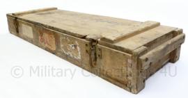WO2 Duitse kist voor 7,5 cm PAK 40 granaten -113x34x14,5cm - origineel