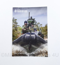Korps Mariniers ansichtkaart - 15 x 10,5 cm - origineel