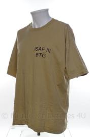 TaskForce TF Uruzgan shirt ISAF III BTG - maat Large - origineel