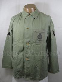 Korps Mariniers Dungaree. tropen jas met broek  -  origineel -2