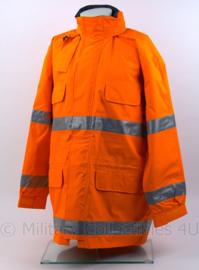 Oranje reflecterende werkjas 3M met voering - Maat Large - topkwaliteit! - nieuw - origineel