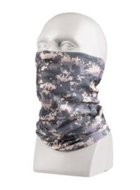 Multifunctioneel hoofddeksel - muts, balaclava, sjaal, hoofdband etc. - ACU camo