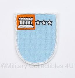 US Army naoorlogse onbekende  cap beret flash voor op de baret  - 6 x 5 cm - origineel