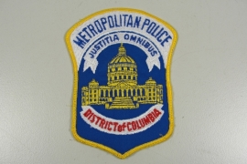 Columbia District Metropolitan Police patch - origineel