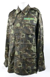 Oekraïense leger camo jas met insignes - maat  50 - licht gedragen - origineel