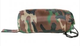 Commando slaapzak met tas - Woodland camo