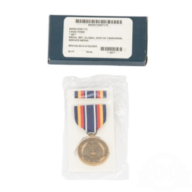 US Army medal set Global War on Terrorism Service medal - origineel