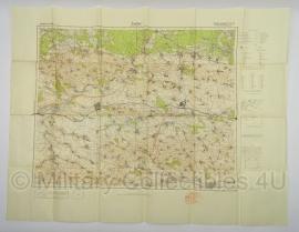 Duitse stafkaart Sonderausgabe 1940 Rusland UdSSR Zaslaw Blatt 396 - 98 x 74,5 cm. schaal 1:100000 - origineel