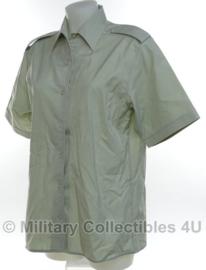 KL DT2000 DAMES blouse licht groen - korte mouw - licht gebruikt - maat 42 - origineel