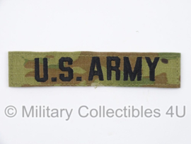 US Army multicamo branch tape/naamlint met klittenband - origineel