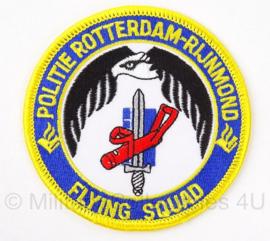 "Embleem Politie Rotterdam Rijnmond ""flying squad"" - 8 cm"