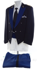 KMAR Koninklijke Marechaussee GLT AT Avondtenue uniform set jas met insignes en broek - Kolonel - maat 52 - origineel
