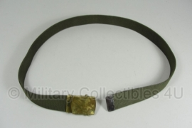 US officer belt - Solid brass Buckle - Made in the USA - origineel
