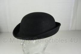 Britse dames Politie hoed zonder insignes - maat 57 cm - origineel