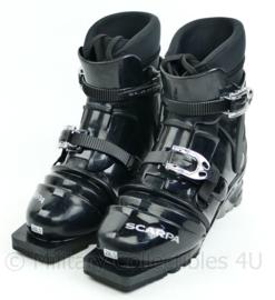 Korps Mariniers skischoenen Scarpa T4 - voor telemark G3 tourski's - zwart - maat 285 = 44,5