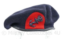 Korps Mariniers baret met GVT insigne - maat 59 - origineel