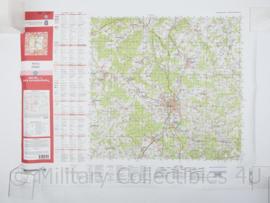 Duitse Stafkaart Niederaula C5522 Fulda 2012 - 1 : 50.000 - 55 x 75 cm - origineel