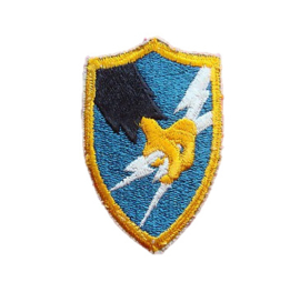 US Army Security Agency ASA patch - Vietnam oorlog - 7,5 x 5 cm - origineel