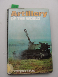 Boek 'Artillery of the world' - Christopher F. Foss