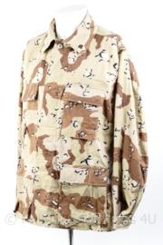 Zeldzaam US Army 1e Golfoorlog BDU Desert uniform jas - gedateerd 1990 - Medium-Regular - origineel