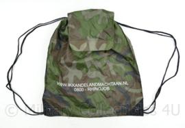 Rugzak Koninklijke Landmacht camo promotie  - 43 x 39 cm - origineel