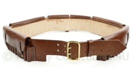 British Victorian Era Martin-Henry Rifle Leather Bandoleer - bruin leder