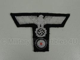 """Schuitje en M43 pet """"T""""insigne set - Panzer officier"""