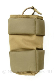 Nederlands Leger MOLLE Coyote pouch inleg met padding - 17 x 9 x 6 cm - origineel