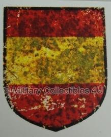 Die Blaue Division - Spanische Freiwilligendivision decal - 2-100