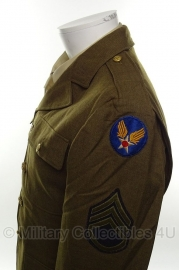 US Class A jas Staff Sergeant 874th Bomb Squadron 20th Army Air Force- size 36 = maat 46 - origineel WO2 1941