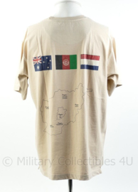 Defensie T-shirt Uruzgan Nederland Australië Afghanistan   - maat L - origineel