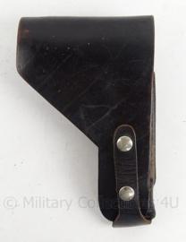 Antiek zwart lederen holster - 21 x 13 cm - origineel