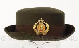 KL Nederlandse leger DT DAMES hoed voor 2000 - officier - maat 56 - origineel
