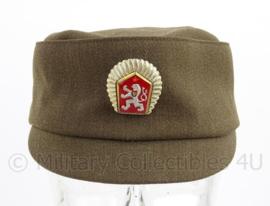 Tsjechische leger pet met insigne - maat 53 - origineel
