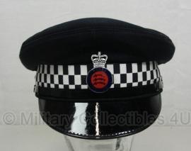 Britse politie pet met insigne - Essex Police - maat 56, 57, 59 of 60 - origineel