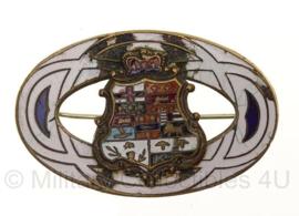 Engelse Coat of Arms insigne - 5 x 3 cm - origineel