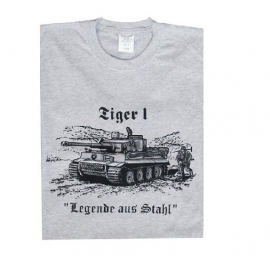 "T shirt Tiger 1 ""Legende aus Stahl "" - maat Small"