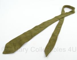 Stropdas Nederlandse leger - groen - 120 cm - origineel