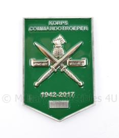 KCT Korps Commandotroepen metalen schild 1942 2017 - 5 x 7 cm - origineel