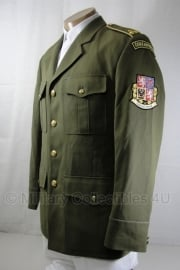 Leger uitgaans uniform met insignes  - decoratief ! - meerdere maten - origineel