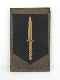 KL Landmacht GVT arm embleem GVT KCT Korps Commando Troepen  - met klittenband - Zeldzaam - afmeting 5 x 8,5 cm - origineel
