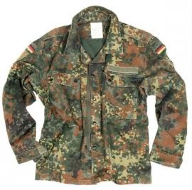 Bundeswehr DAMES flecktarn jas  - origineel