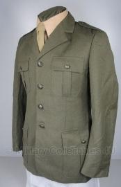 Italiaanse uniform jas bruin/groen - origineel