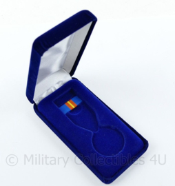 Defensie Luchtmacht medaille doosje - medaille met ribbon - origineel