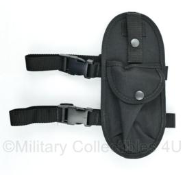 Britse Politie Zwarte Pouch met double strap merk Sitos Equipment - origineel