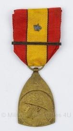 Belgische herinnering ereteken medaille  - Origineel