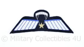 Korps Mariniers Barathea uniform parawing embleem - SLS Brevet - origineel